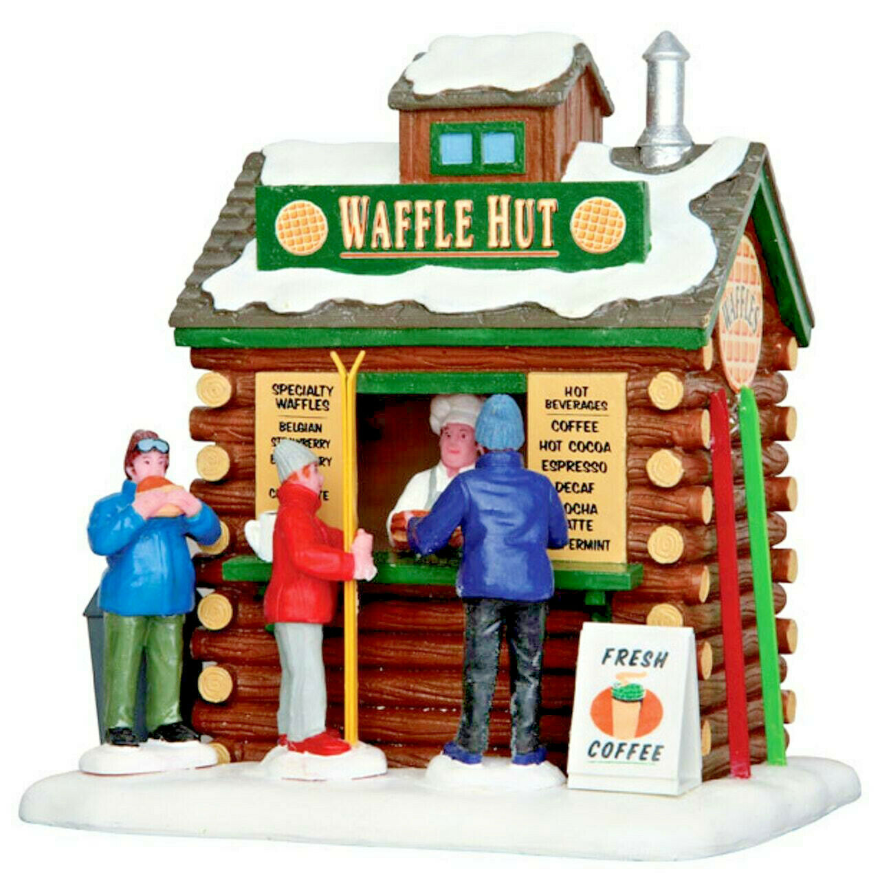 Lemax Christmas Village Waffle Hut #43074 Table Accent