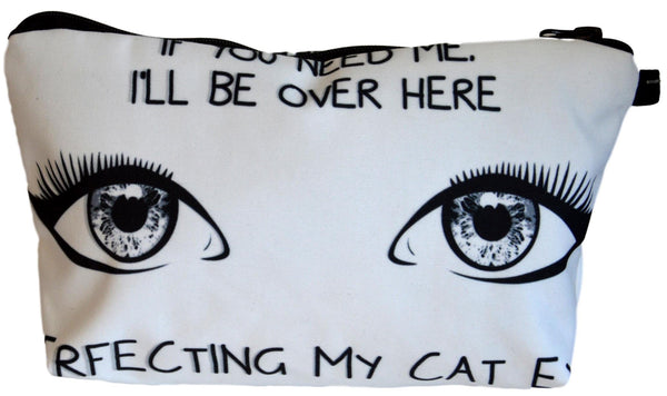 Cat Eye Make-Up / Clutch Bag