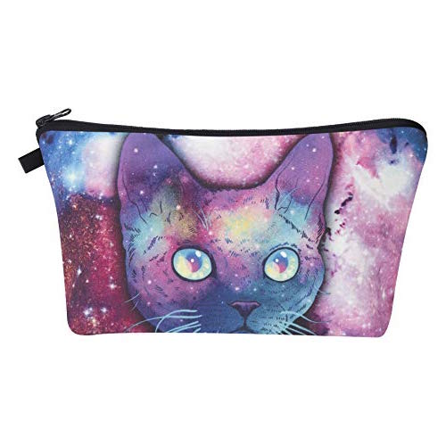 Galaxy Cat Make-Up / Clutch Bag