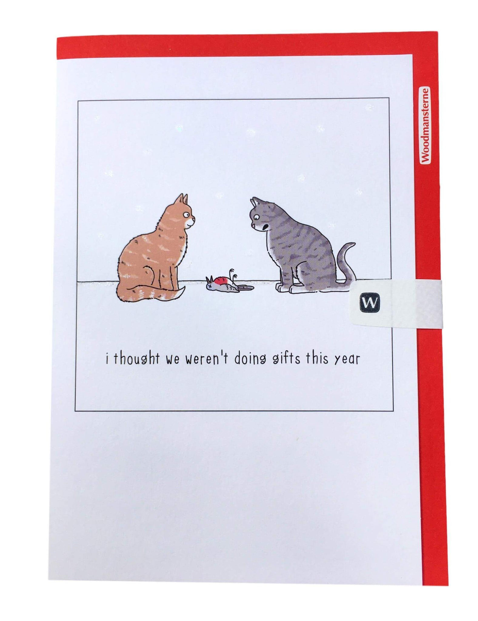 Gifts this Year Funny Cat Christmas Card