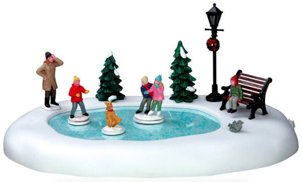 Lemax Christmas Village Silly Situation Animated Table Accent #54922