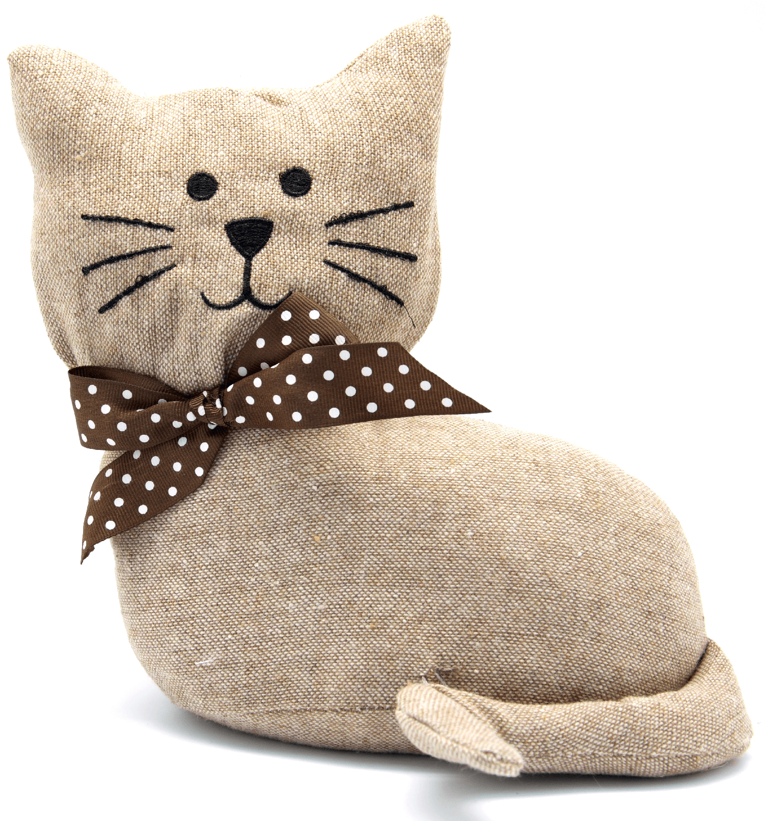 Laying Cat Fabric Door Stop