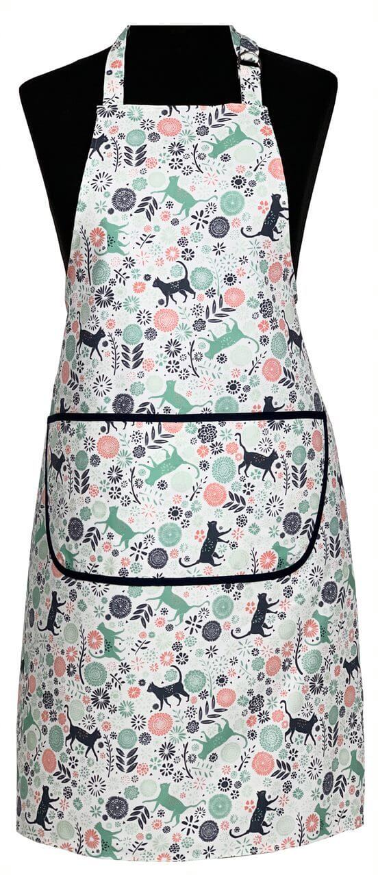Vicky Yorke Kitchen Cats Cat Apron