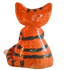 Ceramic Lazy Ginger Stripey Cat