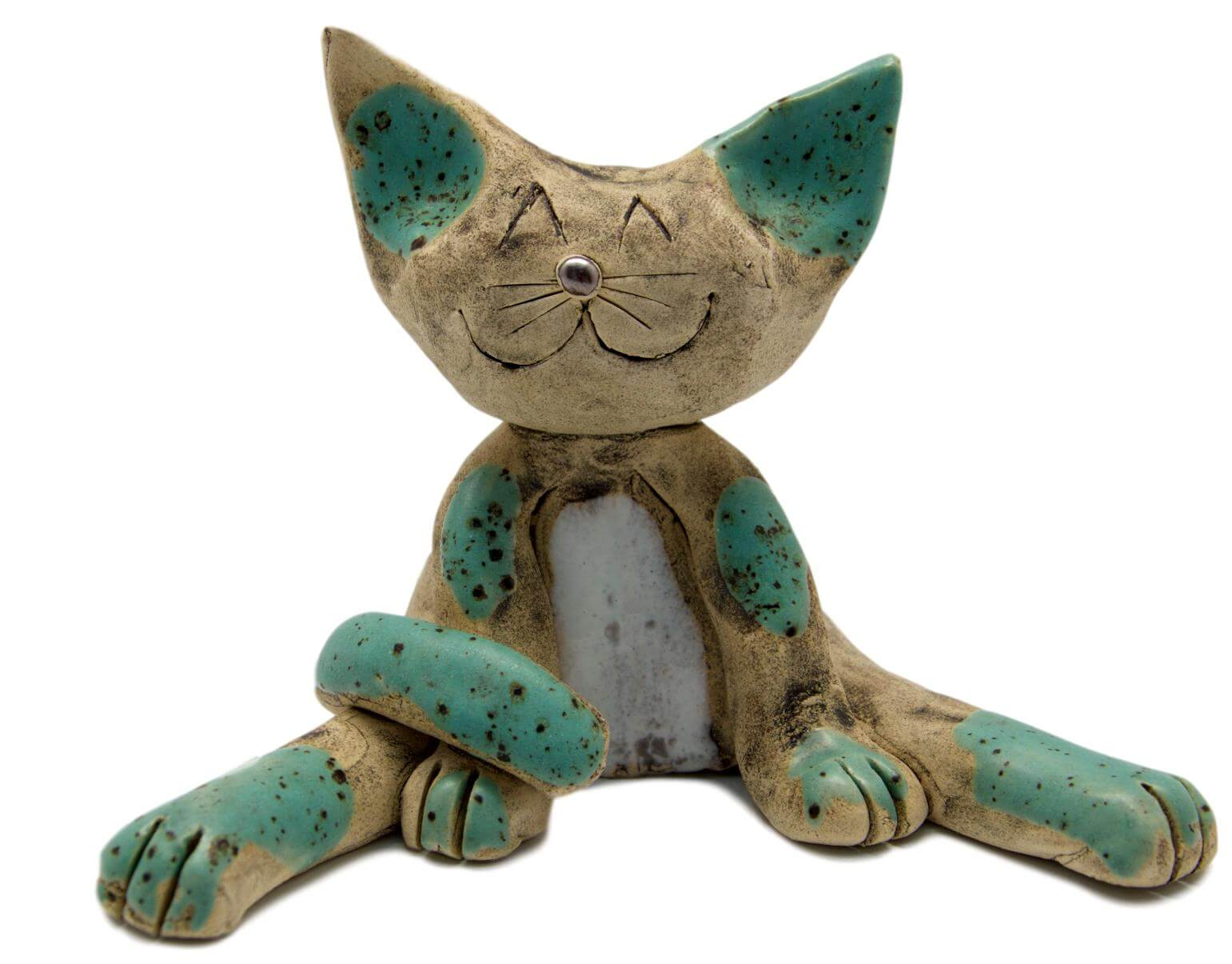 Ceramic Lazy Cat Mint