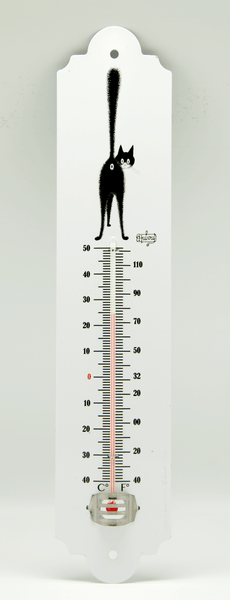Dubout Cats - The Third Eye Garden Thermometer (3ieme Oeil)
