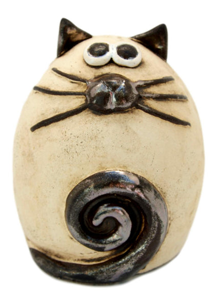 Ceramic Natural Fat Cat