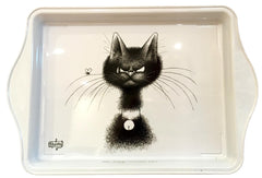 Dubout Cats - The Fly Metal Scatter Tray (La Mouche)