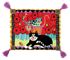 Foodie Boogie Catnip Mat for De'Cat® - Oriental