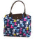 Folding Holdall Blue Cat Travel Bag