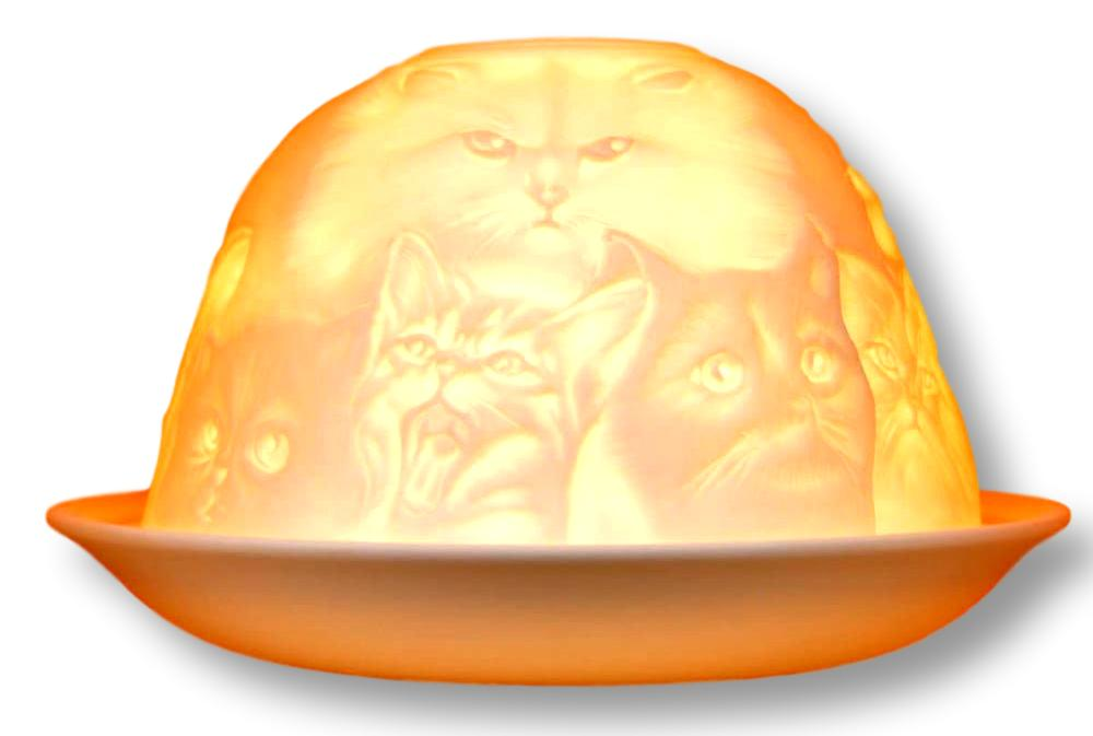 Nordic Light Cat Candle & Lamp