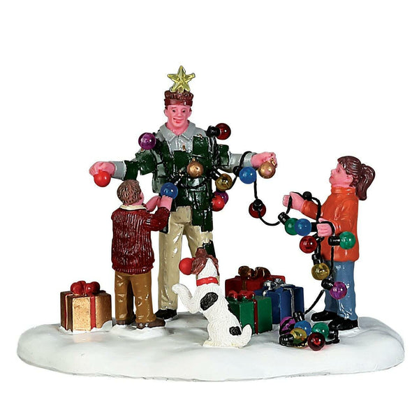 Lemax Village Christmas Tree Dad #73308 Table Accent