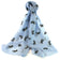 Blue Batia Cat Friend Scarf