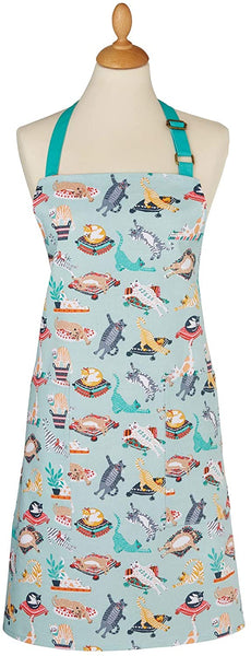 Kitty Cats Green Apron