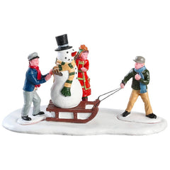 Lemax Christmas Village Kids Playing Table Accent #83355
