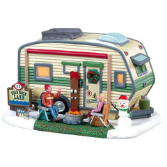 Lemax Christmas Village High Rock Lake Trailer #85322