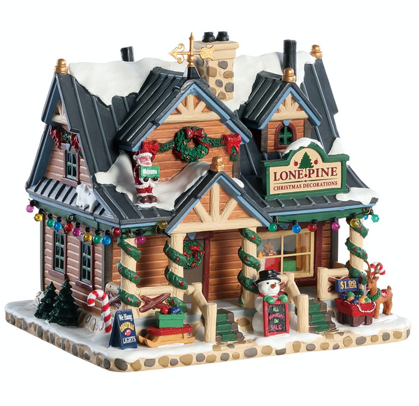 Lemax Christmas Village Lone Pine Christmas Decorations #85323