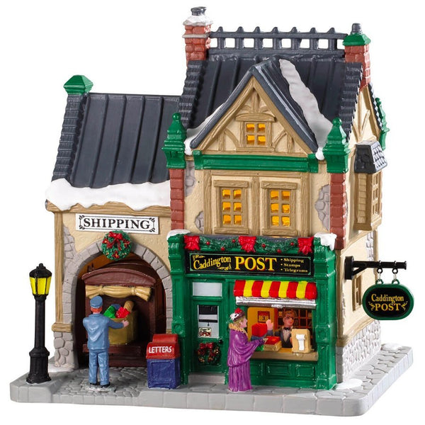 Lemax Christmas Village Caddington Post Office #85364