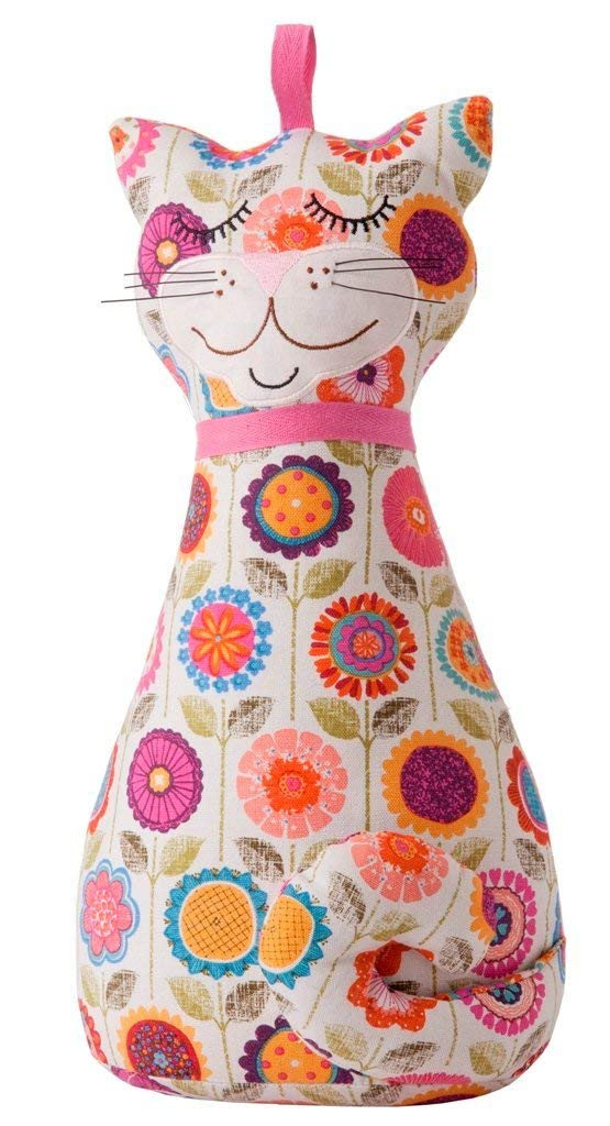 Crazy Flower Cat Door Stop