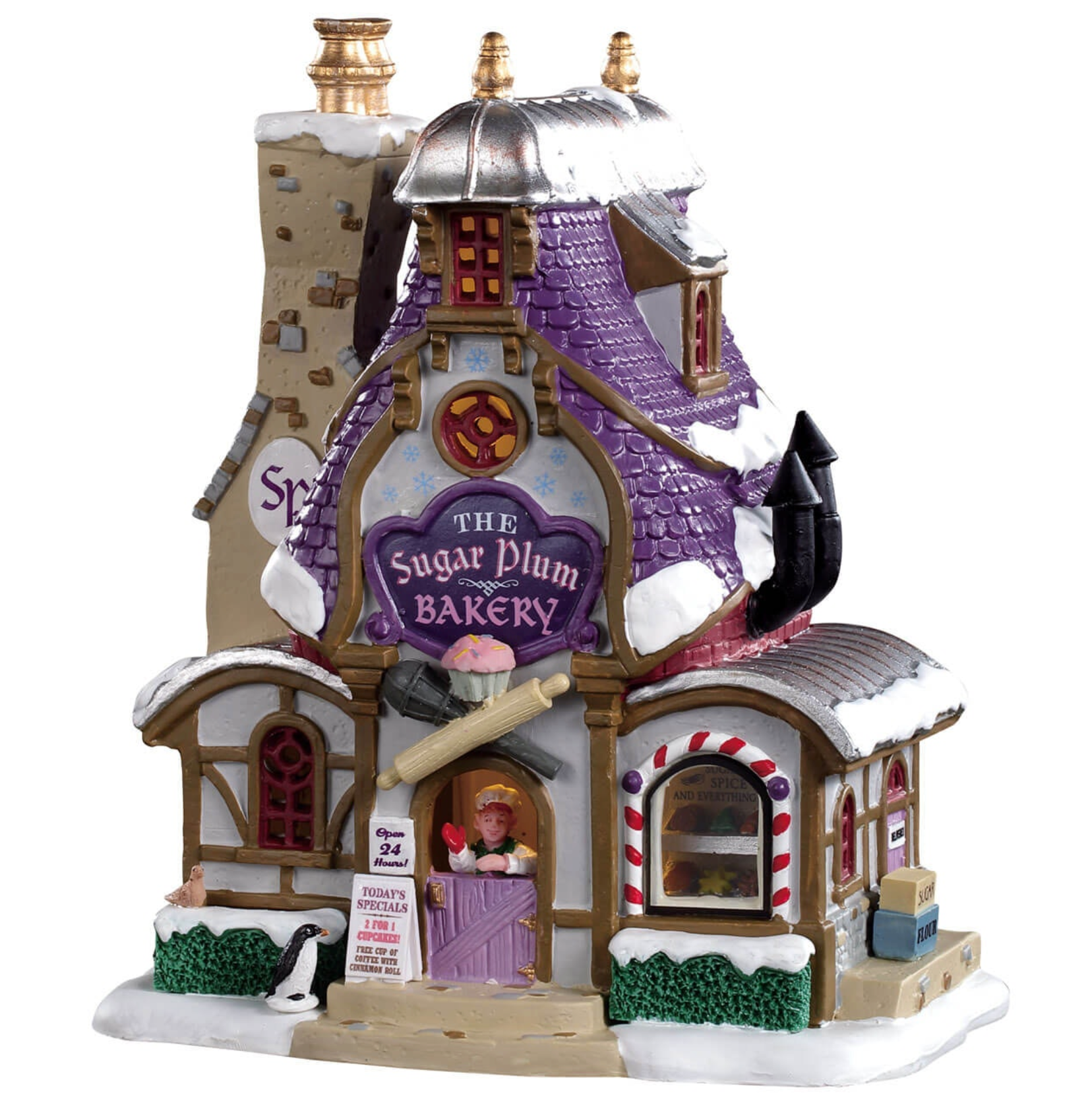 Lemax Christmas Village The Sugar Plum Bakery #95531