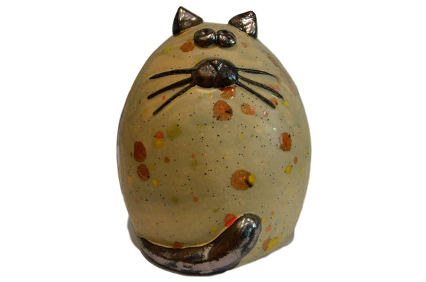 Ceramic Tabby Fat Cat