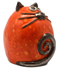 Ceramic Copper Fat Cat
