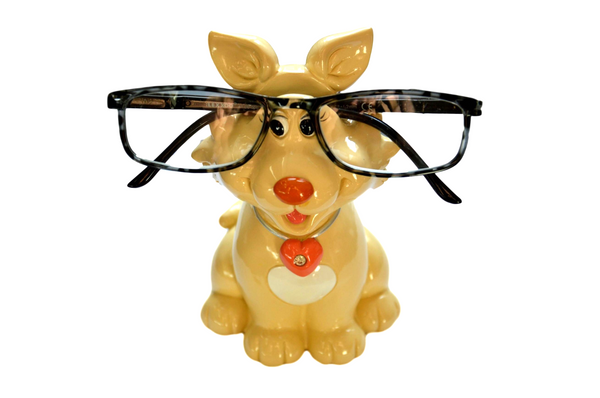Cute Ceramic Glasses Holder & Money Box