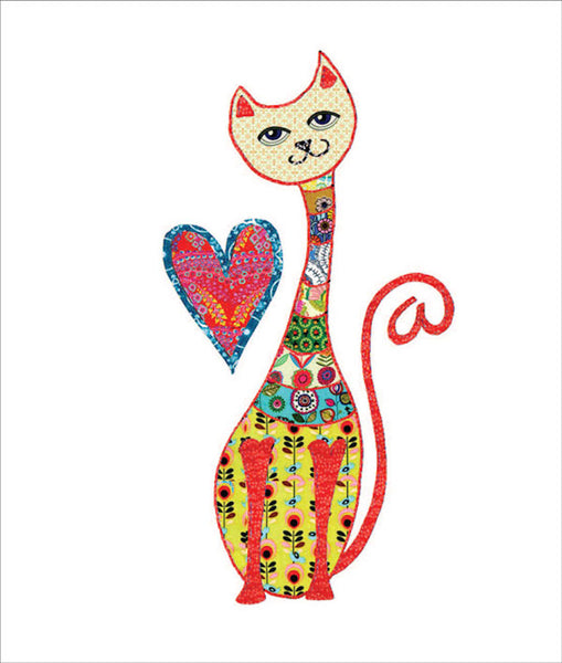 Lovely Cat Greetings Card