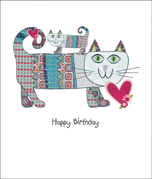 Birthday Cats, Birthday Card