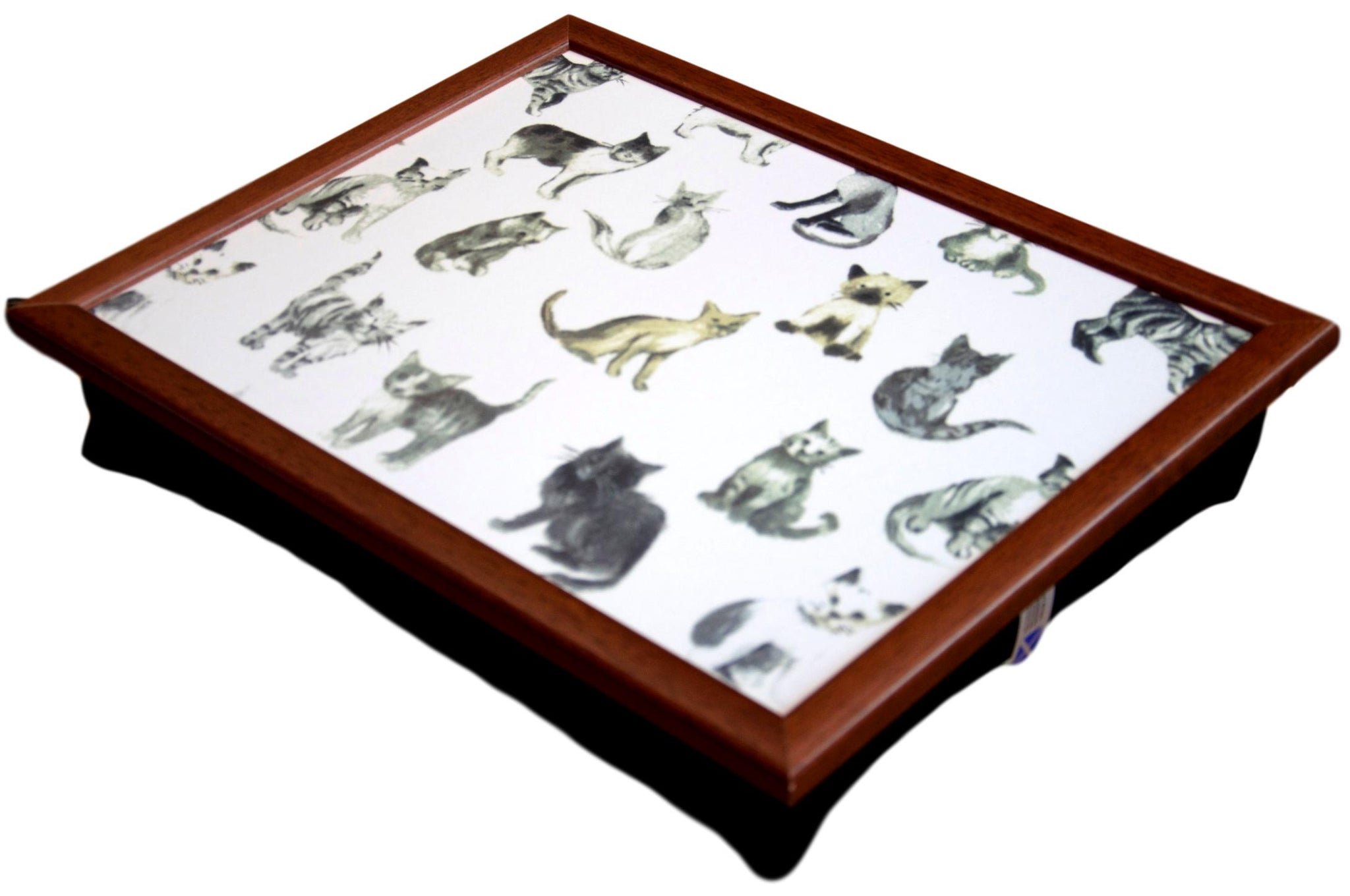 Kitten Cat Design Lap Tray