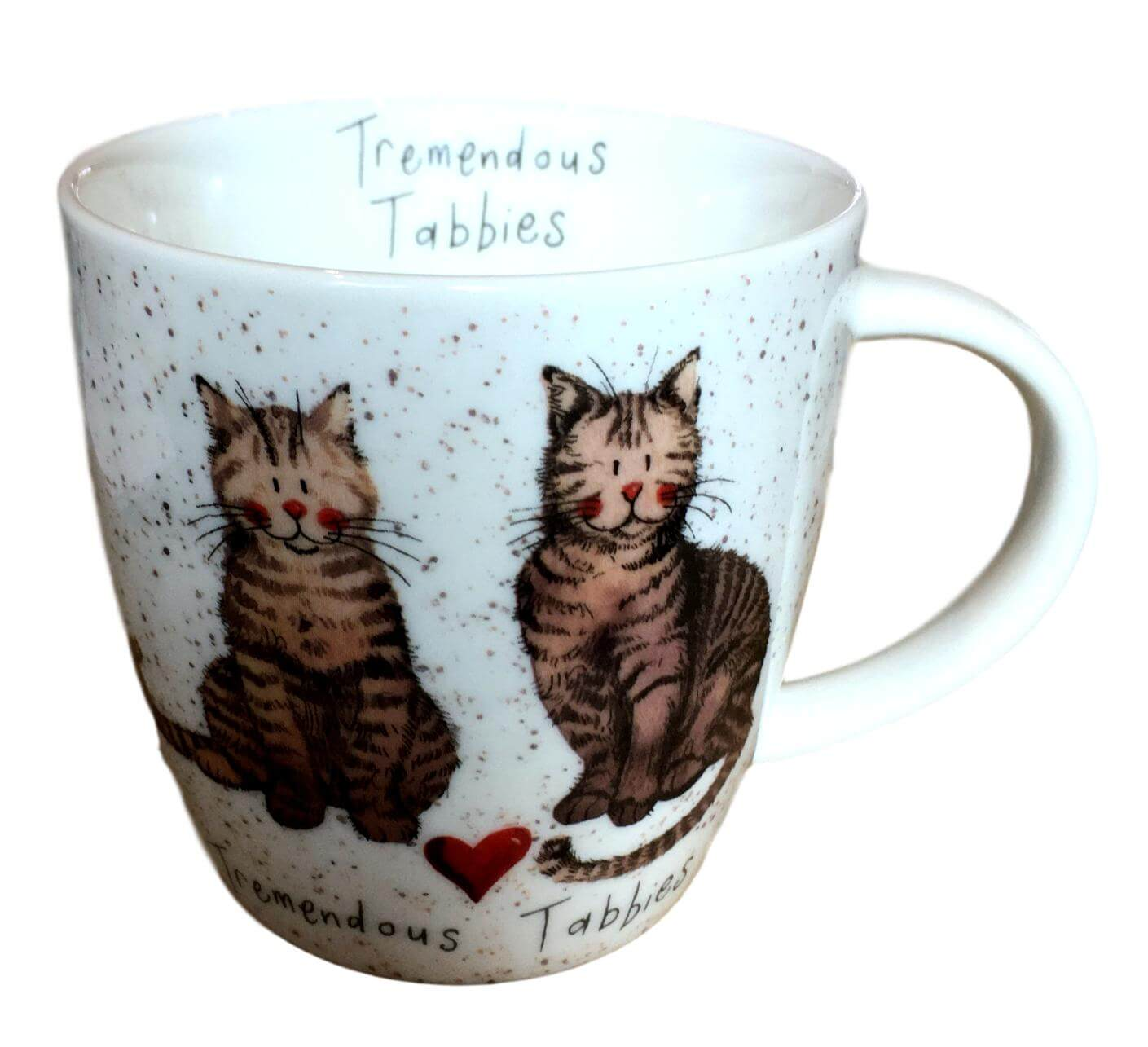 Tremendous Tabbies Cat Mug by Alex Clark