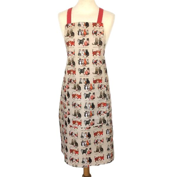 Marvellous Moggies Cat Apron