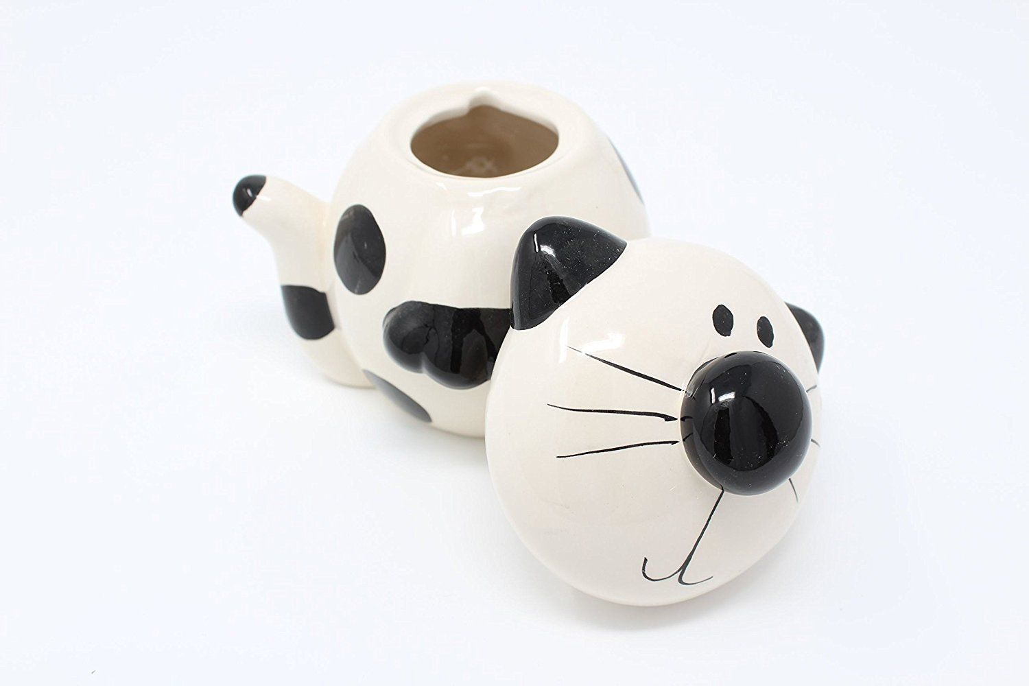 Cat Ceramic Sugar Bowl