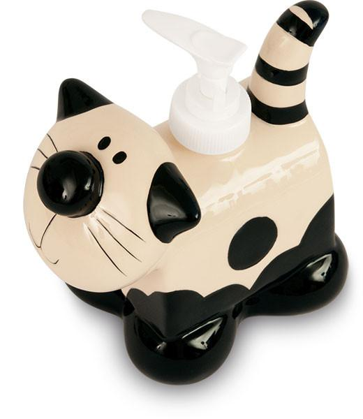 Cat Ceramic Soap Dispenser