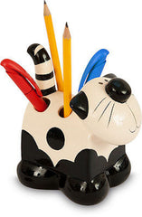 Cat Ceramic Toothbrush / Pencil Holder