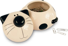 Cat Ceramic Storage Jar