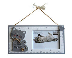 Hanging Cat Picture Frame