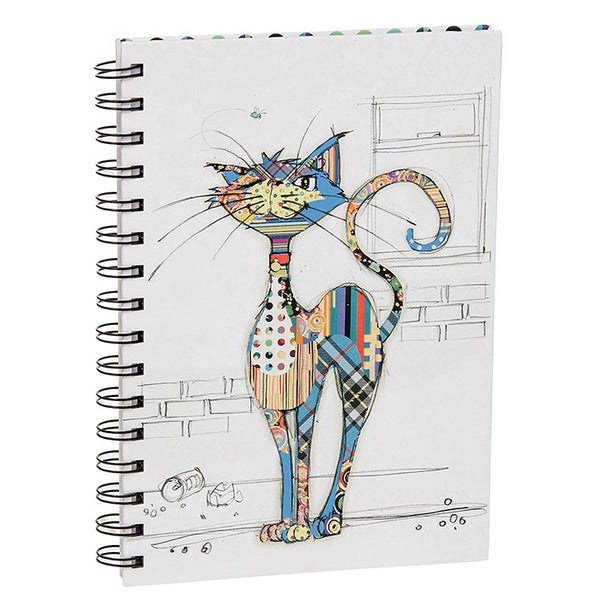 Kooks Cola Cat A5 Gold Foil Hardback Notebook