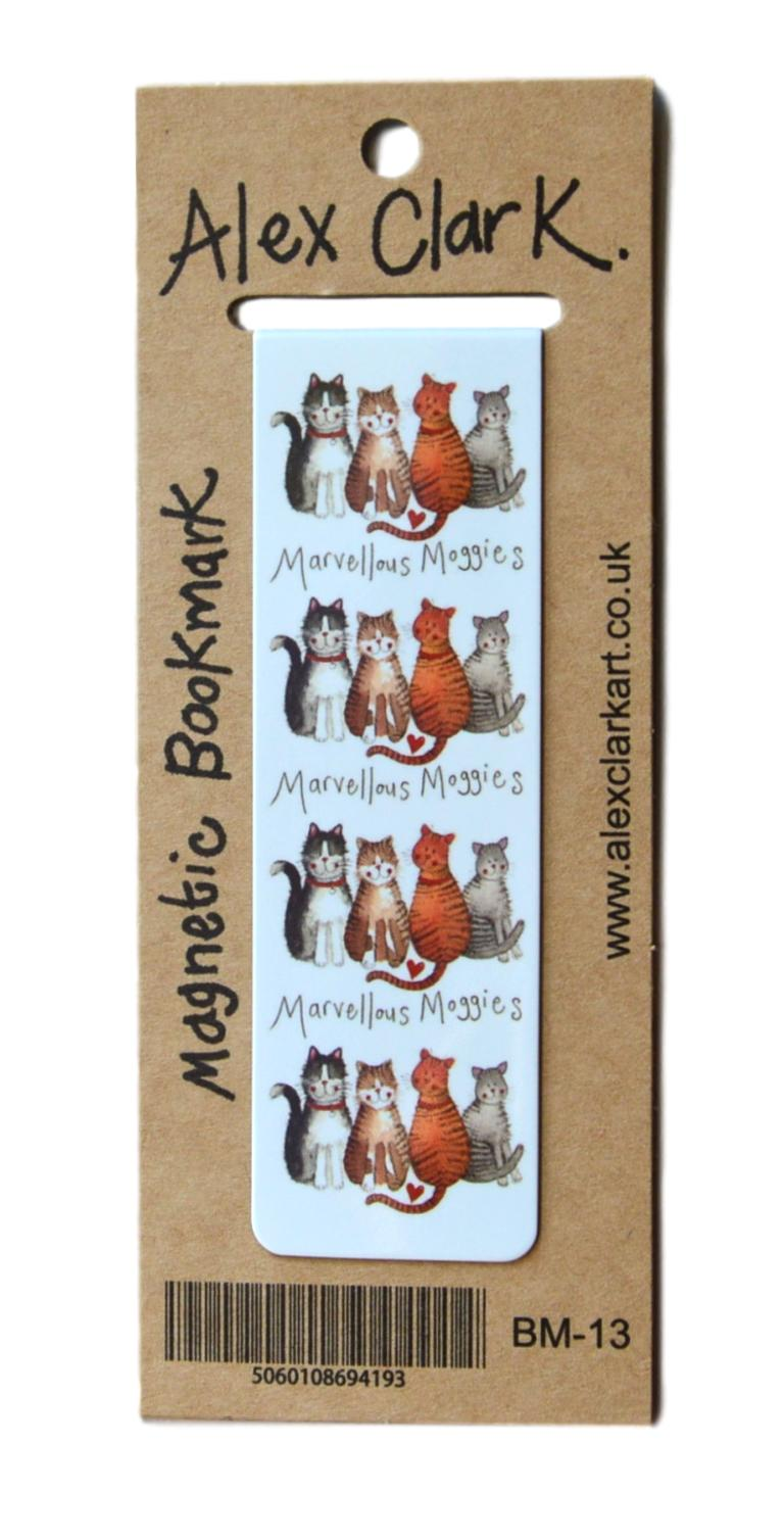 Marvellous Moggies Cat Bookmark