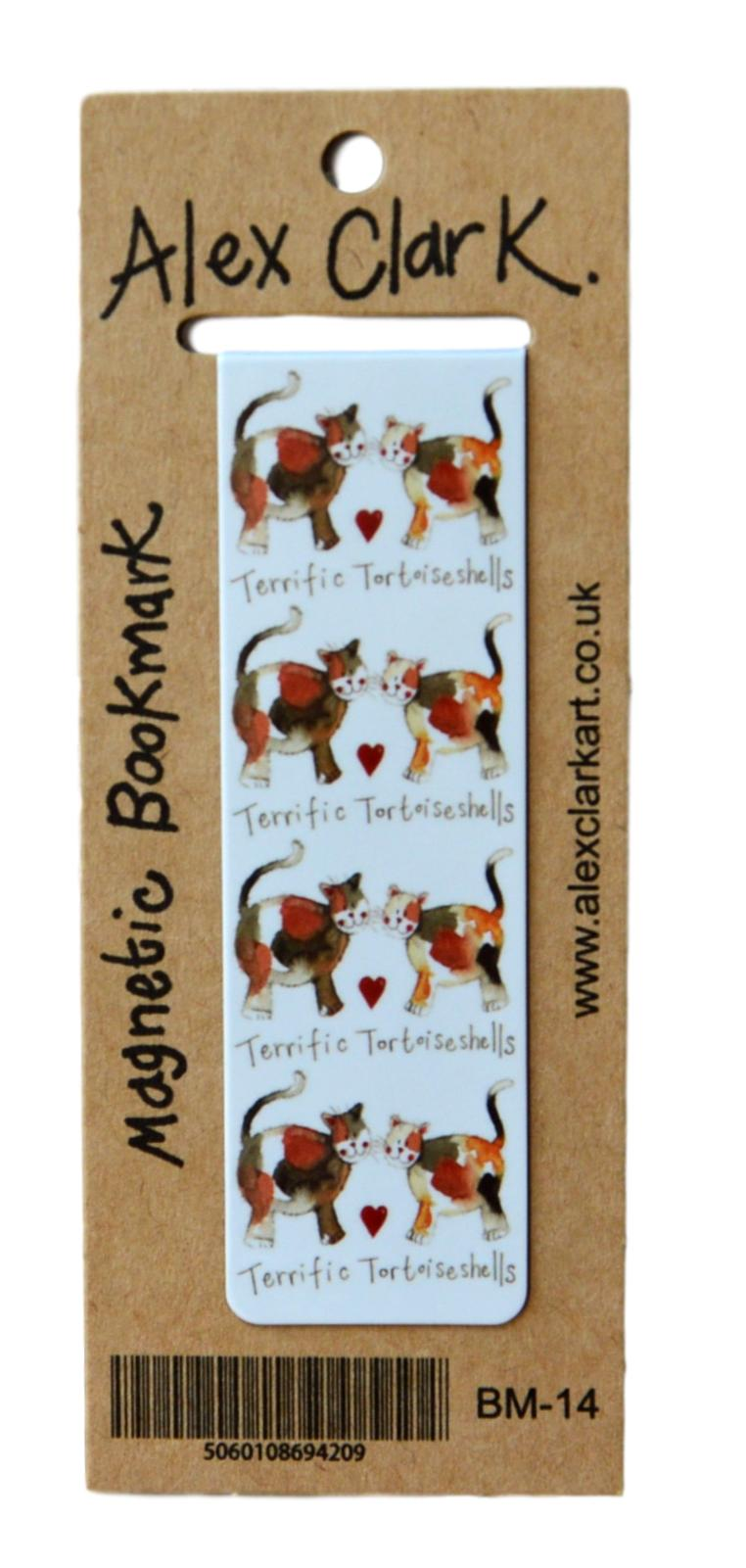 Terrific Tortoiseshells Cat Bookmark
