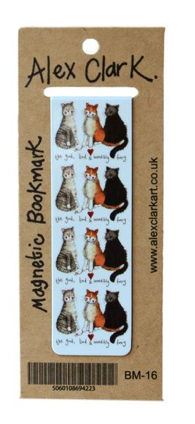 The Good, Bad & Incredibly Furry Cat Bookmark