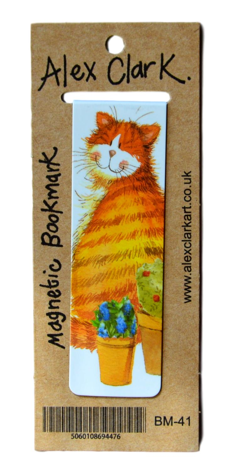 Cats & Pots Cat Bookmark