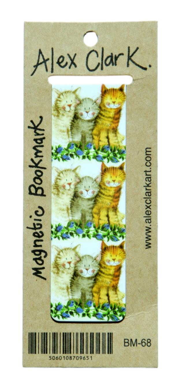 The Three Amigos Cat Bookmark