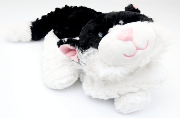 Black & White Cat Comforter Wheat Bag