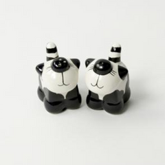 Cat Ceramic Salt and Pepper Set