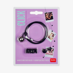 Magnetic Wire Photo and Card Holder
