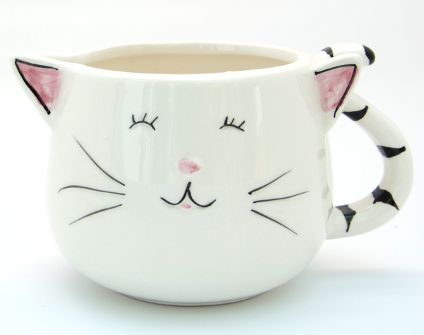 Cheeky Cat Ceramic Jug