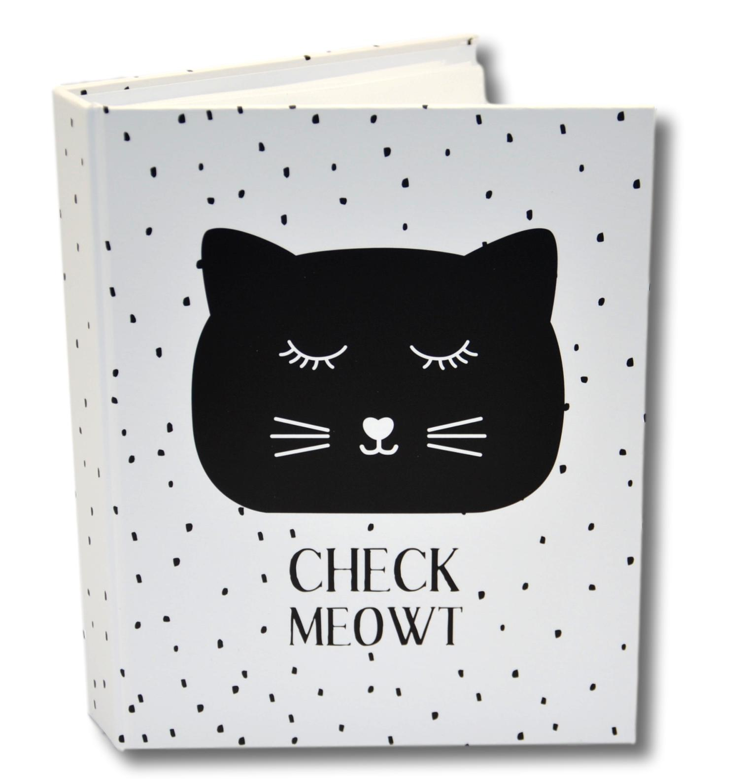Animal Friends Black Cat Mini Photo Album