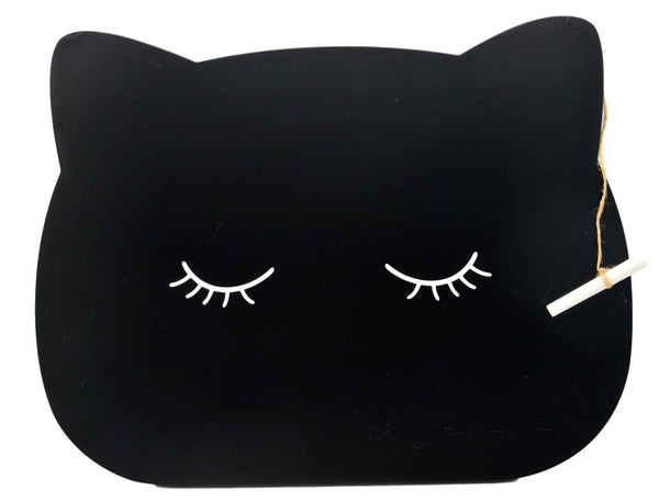 Animal Friends Cat Chalkboard & Chalk