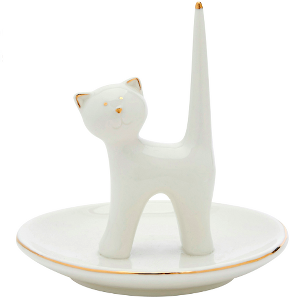 Chloe Cat Ring Holder Trinket Dish